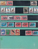 congo stamps on album pages  ref 13243