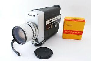 【All Works】Nikon SUPER ZOOM-8 Super 8 8mm Movie Camera N595314 #826343