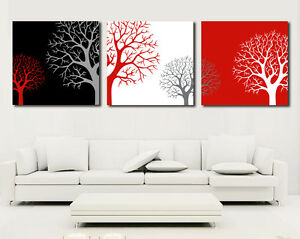 Modern Wall Art .Gallery Wrap. Ready to hang. 3 Panel. special offer