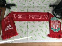 "Official Adidas Liverpool F.C Football Scarf ""The Reds"" - (t8)"
