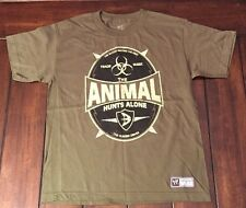 WWE Wrestling Batista The Animal Hunts Alone Green Shirt Youth L Large New