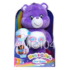 Care Bears Share Bear Lollipops Purple Plush Toy Hug & Giggle, Tickle My Belly