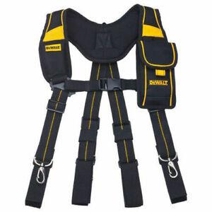 Dewalt DWST80915-8 Suspenders Pro Work Tool Belt Mobile Pouch