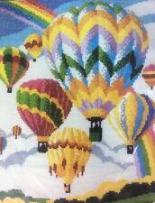 Horizons CS 14 Always Chasing Rainbows Cross Stitch Kit Hot Air Balloons Sealed