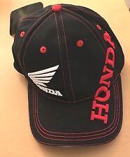 BRAND New Motorcycle Racing HONDA Embroidered Baseball CAP Hat UK SELLER