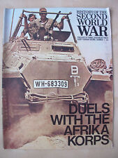 HISTORY OF THE SECOND WORLD WAR VOL 2 No 7 DUELS WITH THE AFRIKA KORPS