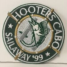 VHTF 1999 Hooters Cabo Sailaway '99 Iron on Patch Never Used Mint