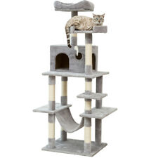 """New listing 63.8"""" Cat Tree Tower Condo House Large Cats Scratching Post Furniture Pet Clim"""