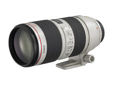 Canon EF 70-200mm F/2.8l USM excelente