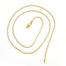 New Cool 20inches 3g 18K  Yellow Gold Plated Necklace Chain Gift C98