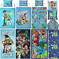 TOY STORY 4 BEDDING BUZZ WOODY FORKY DUVETS TOWEL BLANKET - SOLD SEPARATELY