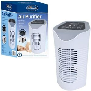 AIR PURIFIER WITH HEPA CARBON FILTERS AIR CLEANER FOR ALLERGIES POLLEN PETS DUST