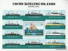 Kokos-Eilanden Blok 2 (compleet.Kwestie.) postfris MNH 1984 Faßpost