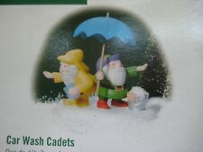 Dept. 56 North Pole Accessory 2001 Car Wash Cadets 56813 Retired 2003 New