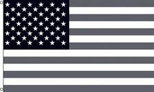 American Black & White 3X5 Flag #697 Usa large 3 x 5 foot banner stars & stripes