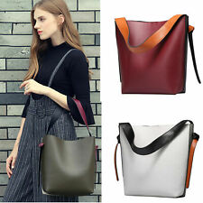 Women Leather Handbags Shoulder Messenger Satchel Office Lady Tote Bag Purse USA