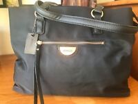 MIMCO Echo Worker Tote Shopper Bag black Authentic New
