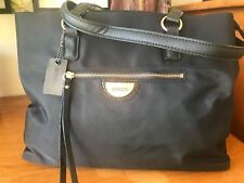 Mimco Echo Worker Tote SHOPPER Bag Black Authentic