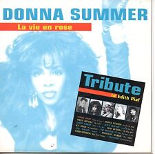 CD single Donna SUMMER La vie en rose 1-track CARD SLEEVE TOP FRENCH COLLECTOR