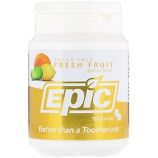 Epic Dental Xylitol Mints Fresh Fruit, 180 Counts (Pack of 3)