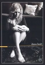 Diana Krall Live at The Montreal Jazz Festival - (DVD) comes with Booklet