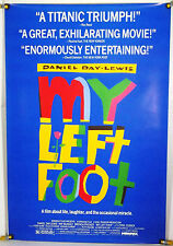 MY LEFT FOOT ROLLED ORIG 1SH MOVIE POSTER DANIEL DAY LEWIS (1989)