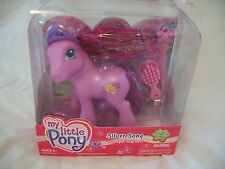 My Little Pony 'Silver Song' Beautiful Original G3 Release Super Long Hair NIB