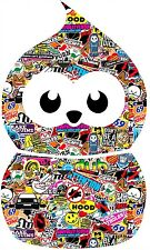 BLOB Zingy stickebomb graphique / sticker (vw / drift style / FED) X1