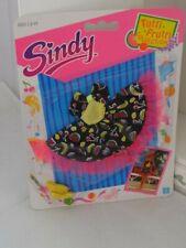 Rare Vintage Hasbro Sindy 1991 New Tutti Fruitti Dress Shoes Outfit Set 2 NRFB
