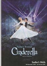 "2011--'CINDERELLA""--SADLER'S WELLS BALLET--ORIGINAL LONDON CAST--PROGRAM--NMT"