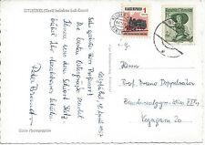 AK: Kitzbühel Tirol Mischfrankatur mit PIATNIK Kinderpost + 1.-- S Trachten 1957