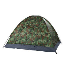 55293cb1dede 3-4 Person Family Camping Waterproof Tent Camo Fast Install for Outdoor  Hiking