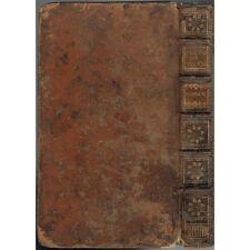 HISTOIRE du PEUPLE de DIEU jusqu'à  ˆla Naissance du MESSIE par BERRUYER 1739 T4