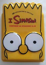 I SIMPSON STAGIONE 10 BART DVD COLLECTOR'S EDITION Dvd Sealed- Cofanetto Box