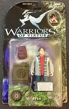 WARRIORS Of Virtue Ryan Action Figure by play'em Toys 1997 (spedizione gratuita)