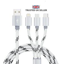 USB high speed 3 in1 Micro Lightning Sync Data Charger Adapter Cable Universal U