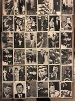 "1964, John F. Kennedy ""Topps"" Card Set - 77 (Scarce / Vintage) + Extra #18 GD-EX"