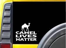 Camel Lives Matter Sticker k132 6 inch desert decal