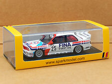 1/43 BMW M3 E30 Schnitzer 24hr Spa Winner #35 Spark Resin Model SB068 Giroix