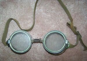 PRE-WW1 DUST GOGGLES, WILSON MADE, U.S. ISSUE *NICE*