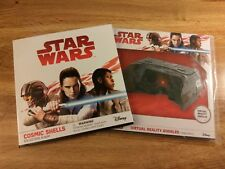 Star Wars Cosmic Shells Full Set 72 Cards incl. Album & Virtual Reality Glasses