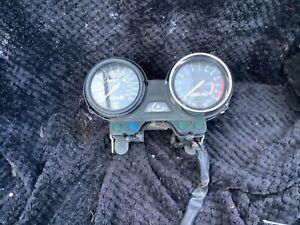Kawasaki Er-5 speedo clocks taco Er500 er5 Speedo clocks damaged cockpit