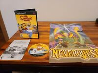 Simpsons Game (Sony PlayStation 2, 2007) CIB w/manuel and cool poster
