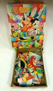 VINTAGE Mickey & Friends - Mickey Band Director 25 Piece Puzzle - 5664B - EUC