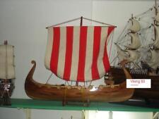 schönes Kriegschiff WIKINGERSCHIFF Modell  Segelschiff 60cm oder 80cm lang