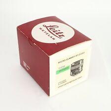 - Leica Leitz Empty Box for Leicaflex Macro - Elmarit - R 60mm f2.8  Lens, 11212