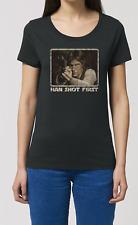 Han shot premières DAMES FEMME T-SHIRT film inspiré par Han Solo Star wars17