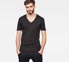 G-STAR 2-Pack T-shirt - V-Neck - SHORT SLEEVE - SLIM FIT taille:L Noir G Star
