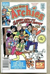 New Archies #1-1987 nm- Archie Comics Henry Scarpelli Jim DeCarlo