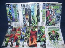 Green Lantern Corps #0 - #21, Annual #1 Lot New 52 NM with Bag and Board DC